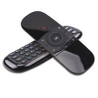 Wechip W1 키보드 마우스 무선 2.4G 에어 마우스 Rechargeble 미니 원격 제어 안 드 로이드 TV 박스 / 미니 PC / TV1