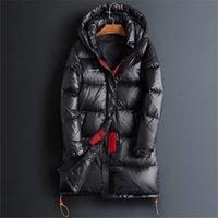 Automne et hiver Nouvelle section de la mode coréenne longue de la section longue de la veste de chauffage épais