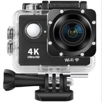 H9 4K كاميرا رياضية كاميرا رياضية فائقة HD في الهواء الطلق واي فاي التحكم عن بعد العمل الغوص ماء