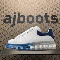 con caja de arriba de calidad 2021 diseñador moda espadrille hombres plata plataforma zapatillas de deporte sobresalientes zapatillas zapatillas de deporte 36-45 # 88