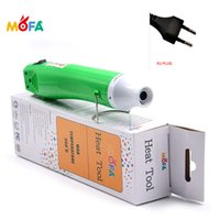 220V Mini Handheld Hot Air Gun 300W,green Portable Heat Gun for DIY Craft Embossing Heat Gu