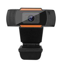 2021 HD Веб-камера с микрофоном 720P Авто фокус 2 Megapixel USB Treation Web Camera для компьютера