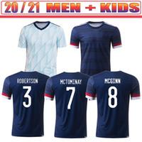 Scotland Soccer Jerseys 2021 Robertson Fraser Shirt Football Ensemble Naismith McGregor Christie Forrest McGinn Men Ks Kit Kit Uniformes