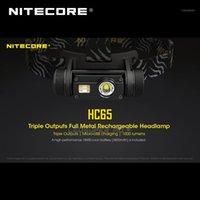 Gold Winner Headflamp 2021 ISPO Award Nitecore HC65 CREE XML2-U2 LED 1000 люмен Triple Repute, аккумулятор с литий-ионным аккумулятором1