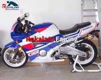 Kit custodia custodia per Honda CBR 600 91 92 93 94 CBR600 1991 1992 1993 1994 f2 careging Blue Blue White Parts Motorcycle