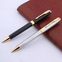 388 Steeless schwarz goldenen Pfeil Fließend Schreiben Metall Kugelschreiber