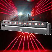 Новая RGB движущаяся головка 8 глаз луча лазерный свет DMX RGB DJ Beam лазерный бар сканер движущейся головной стадию