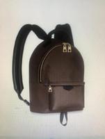 Mochila bolsas escolares bolsas de hombro extraíble correa de hombro de vaca de piel de vaca de cuero genuino de la moda de la letra de la moda cadena negro de alta calidad