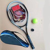 2021 جودة مضرب تنس الجودة مجموعة مع حقيبة التنس + كرة التنس مع سلسلة + تي 2021 جديد إطلاق المنتج ضمان الجودة