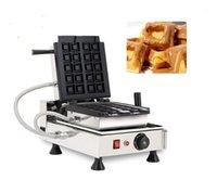 Ekmek Makineleri Snack Crisple Waffle Çörekler Dikey Makinesi Küpleri Yapmak Waffo Isırıkları Kare Döner Makinesi1