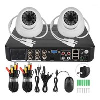 Caméras Caméras Système de caméra Smart Security 1080p 2ch Kit vidéo coaxial de surveillance AHD 200w1