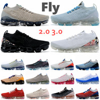 Nouvelle mouche 3.0 tricot 2,0 hommes femmes courantes chaussures de sport triple noir blanc tigre arc-en-ciel black beauté maxes concepteurs formateurs baskets