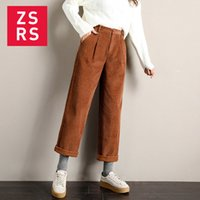 Zsrs Denim Kadınlar Harem Jeans Artı boyutu Uzunluk Bayanlar Yüksek Bel Şık Gevşek Pantolon 201012