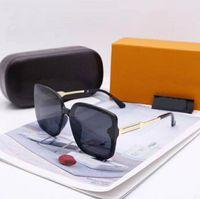 Hohe Qualität Promi Design Marke Männer Sonnenbrille Mode Goldrahmen Gläser Damen Sonnenbrille Runde Gläser