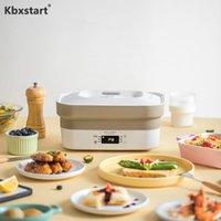 Frigides elétricos 110-220V multifuncional dobrável pote portátil portátil churrasqueira All-in-One home cozinha fogão de indução 800W