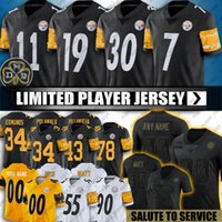 Ben Roethlisberger Juju Smith-Schuster James Conner Chase Claypool Jersey Pittsburgh