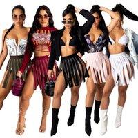 2021 дизайн ZIP моды юбки женщин плиссированные A-Line FlareHigh талия короткая юбка S-XXL