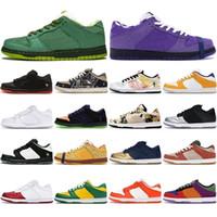 عالية الجودة SB مكتنزة Dunky الجري عارضة منصة أحذية الرجال النساء أحذية رياضية ترافيس سكوتس سيراكيوز سكيت الرياضة Chaussures حجم 36-45