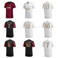 2020 Atlanta United FC Soccer 8 Ezequiel Barco Jersey 7 Josef Martinez 20 Emerson Hyndman 10 Pessoas Martinez Laurence Wyke Camisa de Futebol Kits