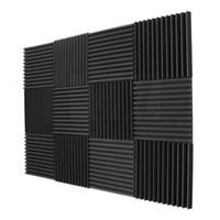 Akustik Paneller Köpük Mühendisliği Sünger Takozlar 1 inç x 12 inç x 12 inç 12 Paket Ses Yalıtım Panelleri1