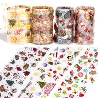 10 Roll Set Nail Art Christmas Starry Sky Paper Nail Art Bri...