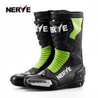 Nerve NV003 Botas de Motocicleta Motocross Profissional Homens Ciclismo Off-Road Rider Sapatos Protetora Engrenagem Impermeável1