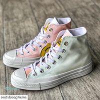 Китайский рынок Convas Chuck 70 УФ-дизайнер-дизайнер светочувствительные повседневные туфли Любители холста Цвета кроссовки с коробкой CT5