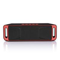 سعر جيد SC208 رئيس بلوتوث مستطيل MP3 مشغل موسيقى مع وزير الخارجية دعم وضع بطاقة TF في الهواء الطلق المحمولة اللاسلكية المتكلم بالجملة