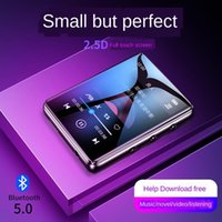 MP4 Players Bluetooth 5.0 Metal MP3 Player شاشة تعمل باللمس الكامل المدمج في مكبر الصوت 4G 8G 16G مع تشغيل راديو FM تشغيل الفيديو