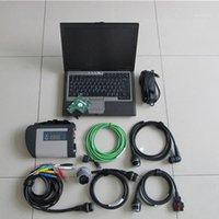 Teşhis Araçları MB Yıldız C4 SD 2021.3 yazılımı ile bağlanma D630 laptop kullanıma hazır teşhis için1