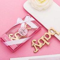 50pcs Lot Personnalisé Blue Pink Baby Douche Rendez-vous pour les faveurs de fête et des cadeaux