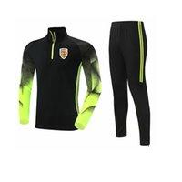 Romanya Ulusal Futbol Takımı erkek Eşofman Polyester Eğlence Ceket Futbol Forması En Eğitim Spor Suit Açık Spor Koşu Giyim