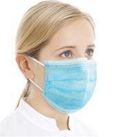 Горячая распродажа взрослый респиратор пользовательских 3 слой нетканый защитный одноразовый маска для лица с фильтром поставщиков прямого завода