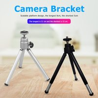 Mini Tripod Portable Mini Flexible Webcam Tripod Aluminum Al...