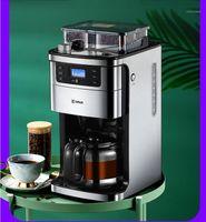 Máquina de máquinas de café Pequena moagem americana automática1