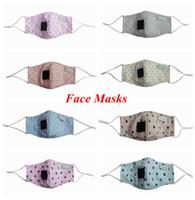 الاطفال قناع الوجه طباعة سترو هول قناع أقنعة أزياء سترو الفم الغبار أقنعة واقية مصمم قابلة لإعادة الاستخدام قابل للتعديل قناع YFALS2235