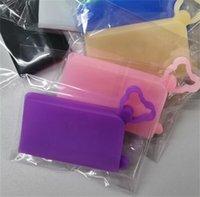 실리카 젤 스토리지 박스는 H2 5mcb 케이스 휴대용 접이식 얼굴 마스크 홀더 임시 저장소 Folde 핫 세일 3 마스크
