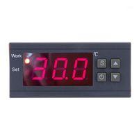 Termómetro digital Controlador de temperatura Mini Termostato Regulador térmico Termopouple -50 ~ 110 Celsius Grado con sensor1
