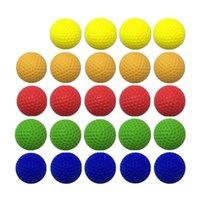100 قطع رغوة الكرة إعادة الملء الرصاص لمنافس nerf لعبة بندقية في الهواء الطلق تحسين ممارسة بو جولة الرصاص للأولاد لعبة بندقية الرصاص FY9381