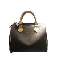 35cm 30cm 스피디 더플 가방 핸드백 지갑 Luxurys 디자이너 가방 여행 토트 크로스 바디 가방 여성 패션 베개 정품 가죽 숄더백