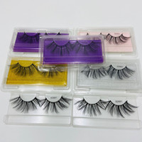 Plus récent 3D Vison Cils long dramatique 100% Mink Maquillage Cils Vison Cils épais 5d long Faux Cils Cils Extension
