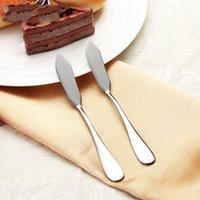 Инструмент из нержавеющей стали Утварь столовые приборы для столовые приборы для ножи для ножи для ножи с сыром Десерт Разбрасыватель джемов Западный завтрак RUTHER 9 L2