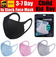 Kids Face Girl Child Anti Dust Mouth Reusable Sponge Masks P...