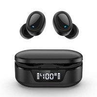 Cuffie Auricolari Tw16 TW16 TWS wireless Auricolare Bluetooth in-Ear Stereo Sport Sport Auricolari impermeabile con microfono Gaming Auricolare