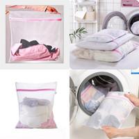 غسل الغرض آلة الغسيل حقيبة الخاصة حماية أكياس القماش الجميلة الصافية لينة السفر التخزين متعددة الأغراض 1 2zm F2