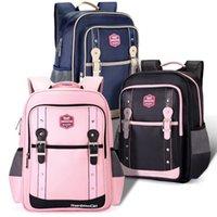 2020 جديد orthopedic الاطفال الحقائب المدرسية حقيبة للفتيات الحقائب الابتدائية ل الصف 1-3-6 الأطفال المدرسية الملف الشخصي الصلبة LJ200917