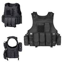 Giacche da caccia Gilet tattico Molle Assault CS Esternal Protective Plate Plate Plate Swat