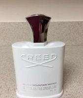 Ünlü Parfüm Creed Şerit Dağ Suyu Erkekler için Köln 120ml Uzun Ömürlü Zaman Ile 120ml Kutusu Ile İyi Kokusu