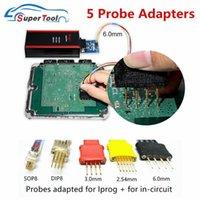 Strumenti diagnostici IPROG + Adattatori sonda V84 per cavi in-circuito Cavi ECU Lavori Pro 5 Probes Cable senza saldatura Xprog Pro1