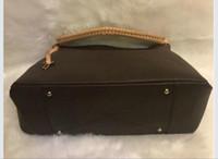 Neue Top-Mode-PU-Leder-Brown Blumenhandtaschen-Frauen-Beutel-Entwerfer Berühmte Schultertasche Handtaschen-Dame Tote Messenger Bag Einkaufstasche